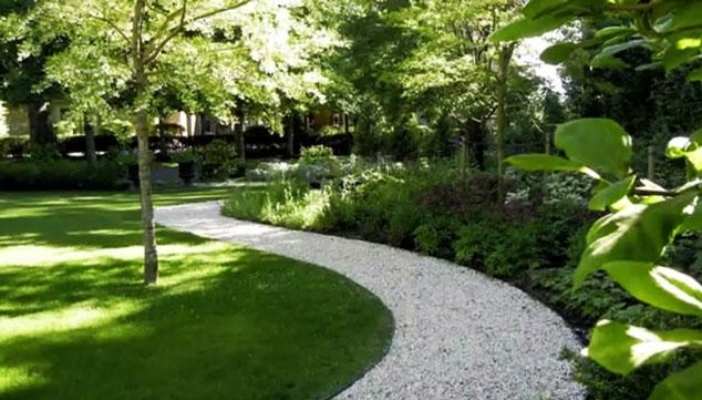 Садовые тропинки в пейзажном стиле