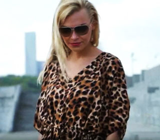 леопардовый рисунок в одежде