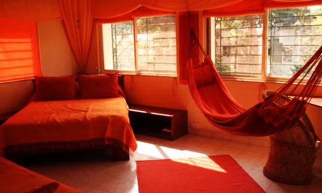 Спальня по фен-шуй цвет