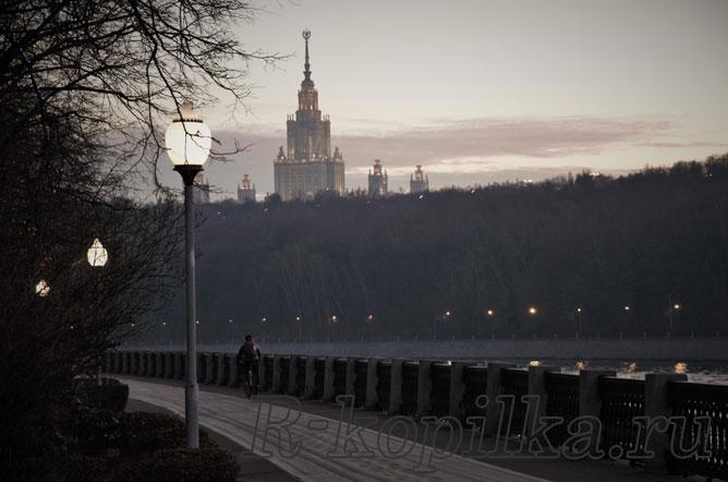 Москва. Набережная