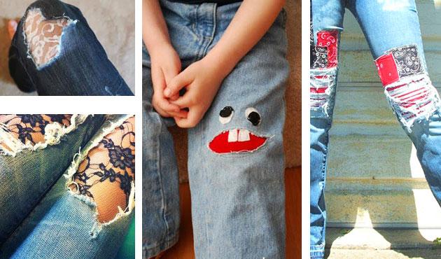 Заплатки на джинсы