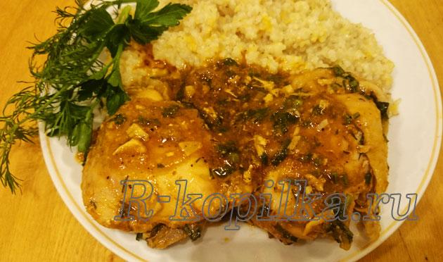 Пошаговый рецепт чахохбили из курицы