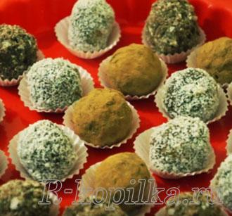 Рецепты конфет в домашних условиях