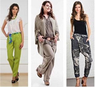 Как подобрать брюки по фигуре женщине