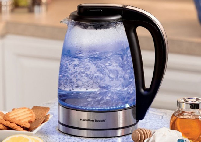 чистый чайник