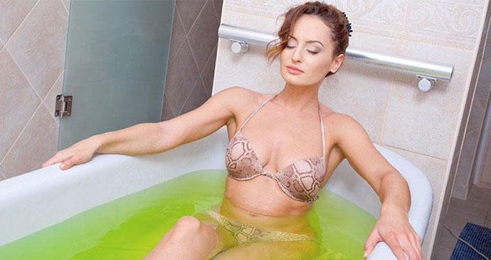 Скипидарные ванны по Залманову в домашних условиях - инструкция