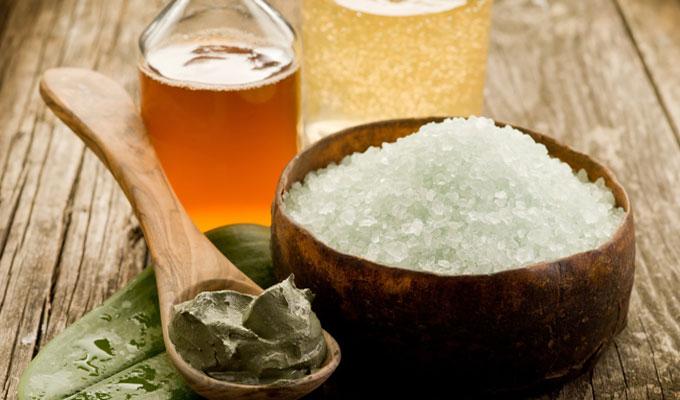 глина и морская соль против псориаза