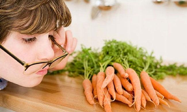 морковь при близорукости