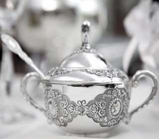 полировка серебряной посуды