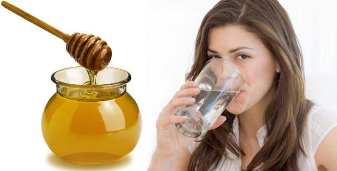 мед и горячая вода натощак