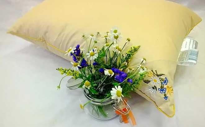 травяные саше и подушки