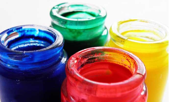 чем развести пальчиковые краски