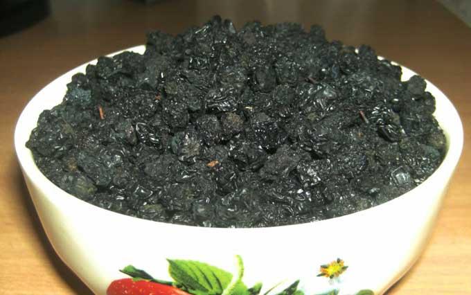 как сохранить черноплодную рябину без варки