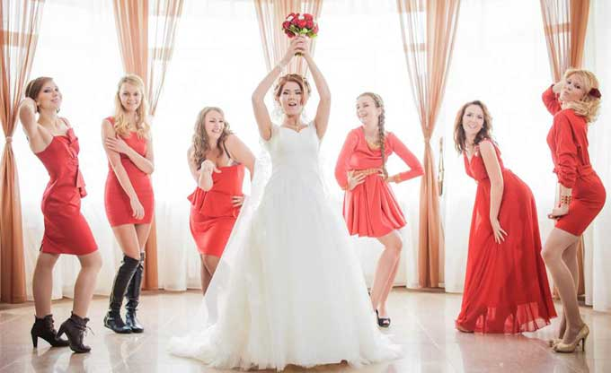 одежда на свадьбу по фэн шуй