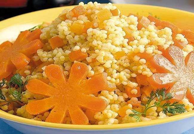 приготовление пшенки с морковью и яблоками