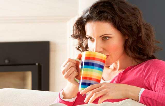 как принимать медовый чай с калиной