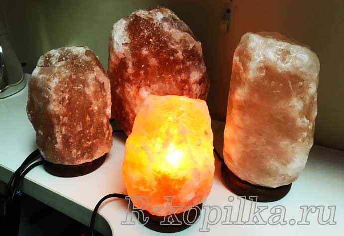 Соляная лампа Скала ее польза и свойства
