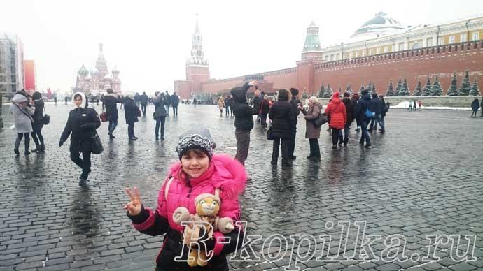 что посмотреть с ребенком в москве за 1 день