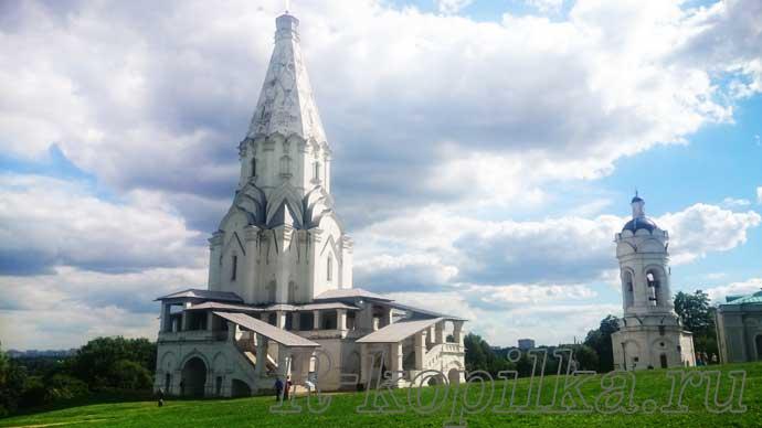 Соборы в Коломенском