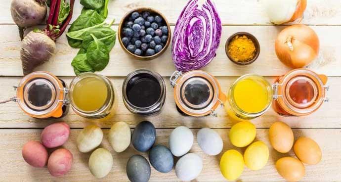 Как покрасить пасхальные яйца в домашних условиях
