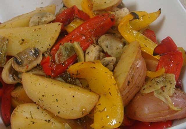 картофельно-грибное рагу
