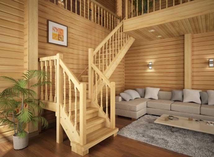 какое дерево лучше для лестницы в доме