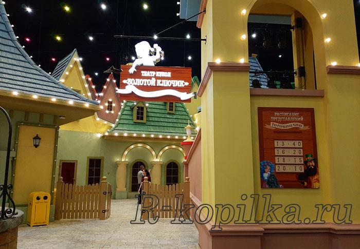 кукольный театр Карабаса Барабаса